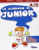Copertina dell'audiolibro Lo schedario di junior 4 di ALOISI, R. - COLOMBO, L. - TONOLINI, S.