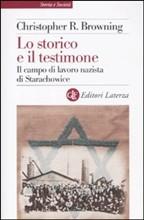 Copertina dell'audiolibro Lo storico e il testimone di BROWNING, Christopher