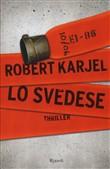 Copertina dell'audiolibro Lo svedese di KARJEL, Robert