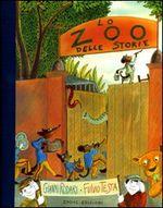 Copertina dell'audiolibro Lo zoo delle storie di RODARI, Gianni - TESTA, Fulvio