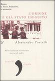 Copertina dell'audiolibro L'ordine è già stato eseguito di PORTELLI, Alessandro