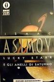 Copertina dell'audiolibro Lucky Starr e gli anelli di Saturno