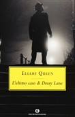 Copertina dell'audiolibro L'ultimo caso di Drury Lane di QUEEN, Ellery