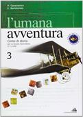 Copertina dell'audiolibro L'umana avventura 3 di CARAMANICA, A. - BARTOLOMEO, E.