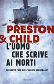 Copertina dell'audiolibro L'uomo che scrive ai morti di PRESTON, Douglas - CHILD, Lincoln