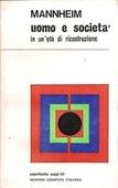 Copertina dell'audiolibro L'uomo e la società in un'età di ricostruzione di MANNHEIM, Karl