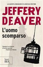 Copertina dell'audiolibro L'uomo scomparso di DEAVER, Jeffery