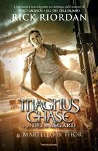 Copertina dell'audiolibro Magnus Chase: Il martello di Thor di RIORDAN, Rick