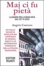 Copertina dell'audiolibro Mai ci fu pietà di CAMUSO, Angela