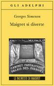Copertina dell'audiolibro Maigret si diverte