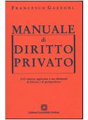 Copertina dell'audiolibro Manuale di diritto privato – XVII edizione di GAZZONI, Francesco