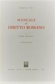 Copertina dell'audiolibro Manuale di diritto romano. Parte prima generale di VOCI, Pasquale
