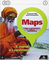 Copertina dell'audiolibro Maps. Temi e strumenti della geografia di MELI, Emanuele - FRANCESCHINI, Anna