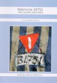Copertina dell'audiolibro Matricola 34751 di SORAVITO, Alberto (a cura di)