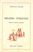 Copertina dell'audiolibro Melodia Veneziana di MASSARO, Fortunato