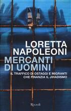 Copertina dell'audiolibro Mercanti di uomini di NAPOLEONI, Loretta