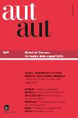 Copertina dell'audiolibro Michel de Certeau: un teatro della soggettività di NAPOLI, Diana (a cura di)