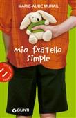 Copertina dell'audiolibro Mio fratello Simple di MURAIL, Marie-Aude