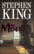 Copertina dell'audiolibro Misery di KING, Stephen
