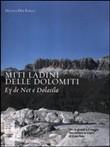 Copertina dell'audiolibro Miti ladini delle Dolomiti: Ey de Net e Dolasìla