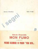 Copertina dell'audiolibro Mon fumo di CHIARELOTTO, Antonio