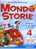 Copertina dell'audiolibro Mondo storie 4 – lingua e linguaggi di ROSATO, Mariella - TERRAGNI, Miriam
