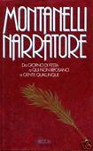Copertina dell'audiolibro Montanelli narratore