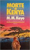 Copertina dell'audiolibro Morte in Kenya di KAYE, M.M.