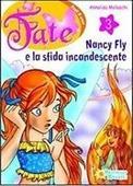 Copertina dell'audiolibro Nancy Fly e la sfida incandescente di MOLASCHI, Annalisa