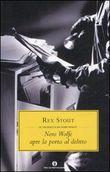 Copertina dell'audiolibro Nero Wolfe apre la porta del delitto