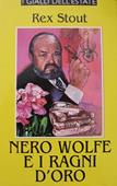 Copertina dell'audiolibro Nero Wolfe e i ragni d'oro di STOUT, Rex