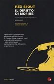 Copertina dell'audiolibro Nero Wolfe: Il diritto di morire