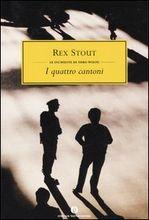 Copertina dell'audiolibro Nero Wolfe: inchieste di famiglia – I quattro cantoni