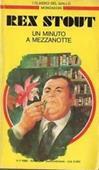 Copertina dell'audiolibro Nero Wolfe: un minuto a mezzanotte di STOUT, Rex