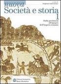 Copertina dell'audiolibro Nuova società e storia. 1: Dalla preistoria all'apogeo dell'impero romano di GUARRACINO, Scipione