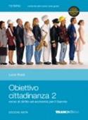 Copertina dell'audiolibro Obiettivo cittadinanza 2 – ed. mista di ROSSI, Lucia