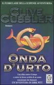 Copertina dell'audiolibro Onda d'urto di CUSSLER, Clive