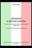 Copertina dell'audiolibro Opinioni e rievocazioni: tre anni di collaborazione alla stampa trapanese