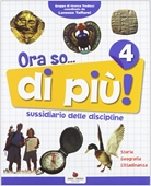 Copertina dell'audiolibro Ora so… 4 storia – geografia di ^ORA...