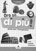 Copertina dell'audiolibro Ora so… 5 storia geografia