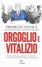 Copertina dell'audiolibro Orgoglio e vitalizio di DI NICOLA, P. - PITONI, A. - VELARDI, G.
