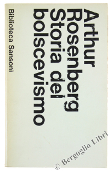 Copertina dell'audiolibro Origini della repubblica di Weimar di ROSENBERG, Arthur