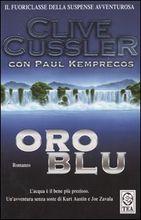 Copertina dell'audiolibro Oro blu di CUSSLER, Clive - KEMPRECOS, Paul