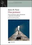 Copertina dell'audiolibro Osa pensare di FLYNN, James R.