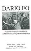 Copertina dell'audiolibro Pagine scelte dalle commedie del Premio Nobel per la Letteratura di FO, Dario