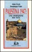 Copertina dell'audiolibro Palestina 1947: una spartizione mai nata di GRESH, Alain - VIDAL, Dominique