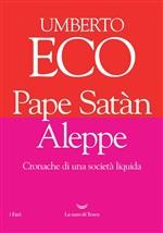 Copertina dell'audiolibro Pape Satàn Aleppe di ECO, Umberto