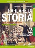 Copertina dell'audiolibro Parlare di storia 2 di FOSSATI, Marco - LUPPI, Giorgio - ZANETTE, Emilio