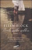 Copertina dell'audiolibro Parole sulla sabbia di BLOCK, Ellen