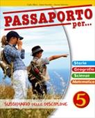 Copertina dell'audiolibro Passaporto per… 5 – Storia geografia di ALLEVI, Carlo - VALENTINI, Aurora